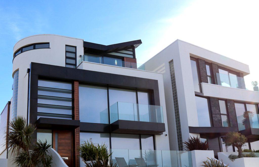 Privathaus mit Sonneschutzverglasung